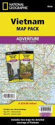 Vietnam Map Pack Bundle by National Geographic Maps