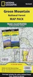 Green Mountains National Forest, Map Pack Bundle by National Geographic Maps