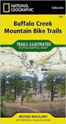 Buffalo Creek Mountain Bike Trails, Colorado, Map 503 by National Geographic Maps