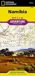 Namibia Adventure Map 3209 by National Geographic Maps
