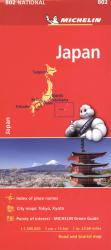 Japan Map by Michelin Travel Partner