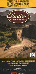 California Backcountry Discovery Route - South : Dual-Sport Map by Butler Motorcycle Maps