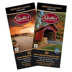 American Classics by Butler Motorcycle Maps