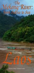 Mekong River Map, Featuring Laos by Odyssey Publications