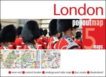 London, England, PopOut Map by PopOut Products