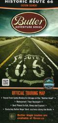 Route 66, East by Butler Motorcycle Maps