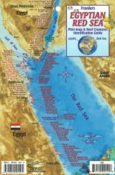 Egyptian Red Sea Mini map and Reef Creatures Identification Guide by Frankos Maps Ltd.