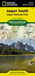 Jasper, South, Map 902 by National Geographic Maps