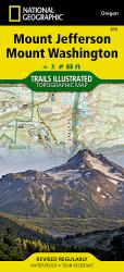 Mt. Jefferson and Mt. Washington Wilderness, Map 819 by National Geographic Maps