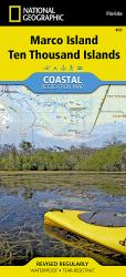 Ten Thousand Islands, Marco Island, Map 402 by National Geographic Maps