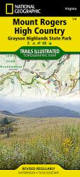 Mount Rogers High Country, Map 318 by National Geographic Maps