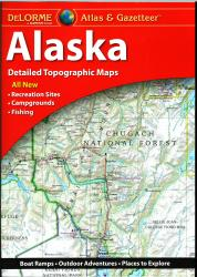 Alaska Atlas and Gazetteer by DeLorme