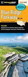 Blue Ridge Parkway, Virginia and North Carolina by Kappa Map Group