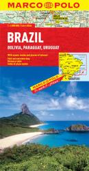 Brazil, Bolivia, Paraguay and Uruguay by Marco Polo Travel Publishing Ltd