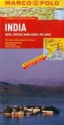 India, Nepal, Bhutan, Bangladesh and Sri Lanka by Marco Polo Travel Publishing Ltd