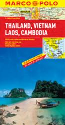 Thailand, Vietnam, Laos and Cambodia by Marco Polo Travel Publishing Ltd