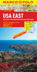 United States, Eastern and Great Lakes by Marco Polo Travel Publishing Ltd