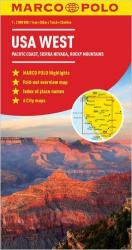 United States, Western by Marco Polo Travel Publishing Ltd