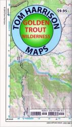 Golden Trout Wilderness by Tom Harrison Maps