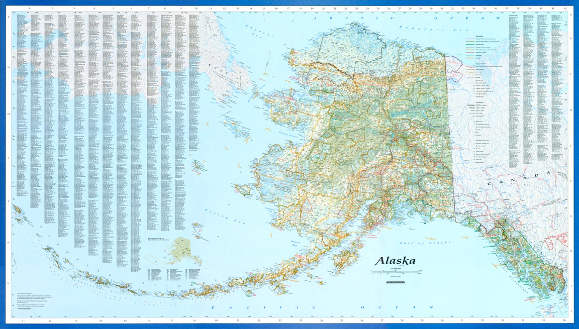 Alaska Wall Map by Imus Geographics on outline map of alaska, topographical map of alaska, rivers of alaska, us map alaska, climate map of alaska, map of southern alaska, the map of alaska, road map of alaska, atlas map of alaska, political map of alaska, denali alaska, large map alaska, satellite map of alaska, map of nome alaska, full map of alaska, detailed map alaska, printable maps alaska, physical maps of vietnam, world map of alaska, elevation map of alaska,