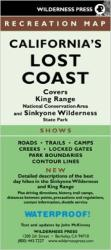 Lost Coast, California Trails and King Range/Sinkyone by Wilderness Press