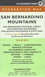 San Bernardino, California Mountain Trails by Wilderness Press