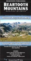 Beartooth Mountains trail map