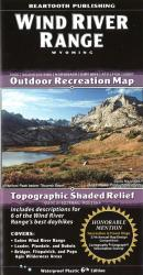 Wind River Range trail map