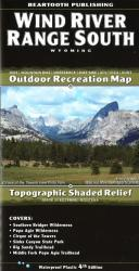 Wind River Range South trail map