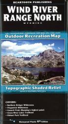 Wind River Range North trail map