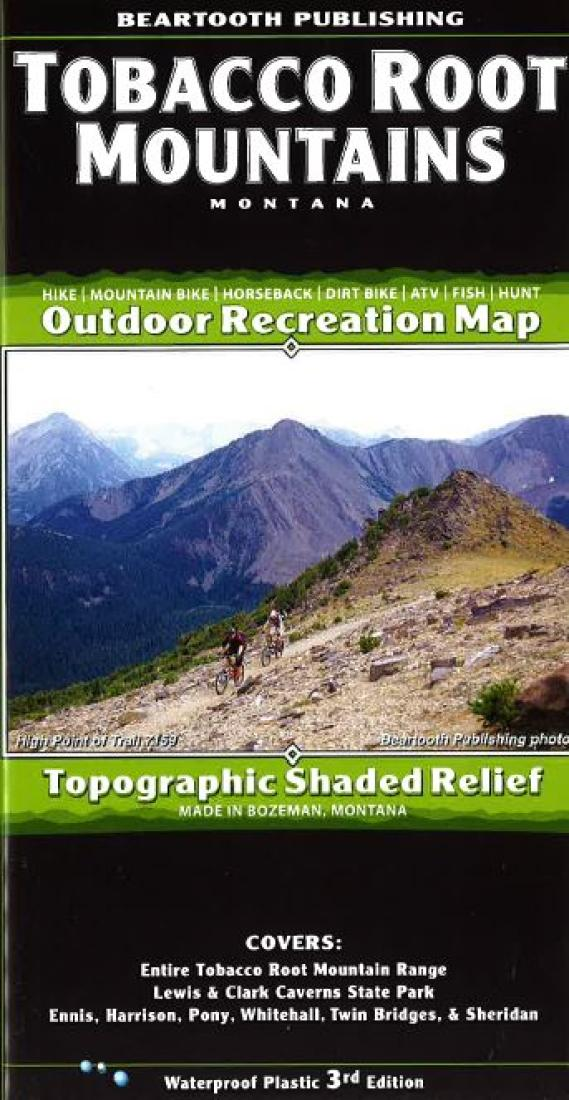 Tobacco Root Mountains trail map