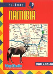 Namibia, eaZimap by Map Studio