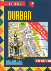 Durban, South Africa, eaZiplan by Map Studio
