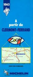 A Partir de Clermont - Ferrand, 1063 by Michelin Maps and Guides