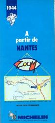 A Partir de Nantes, 1044 by Michelin Maps and Guides