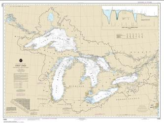 Great Lakes (14500-27) by NOAA