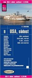 United States, Southeast by Reise Know-How Verlag