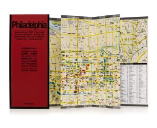 Philadelphia, Pennsylvania by Red Maps