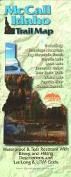McCall, Idaho Trail Map by Adventure Maps