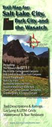 Salt Lake City, Park City, and the Wasatch, Trail Map by Adventure Maps