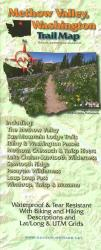 Methow Valley, WA, Trail Map by Adventure Maps