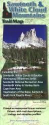 Sawtooth and White Cloud Mountains, Trail Map by Adventure Maps