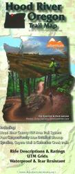 Hood River, Oregon, Trail Map by Adventure Maps