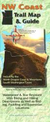 NW Coast Trail Map and Guide by Adventure Maps