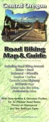 Central Oregon, Road Biking Map and Guide by Adventure Maps