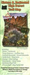 Sisters & Redmond High Desert Trail Map by Adventure Maps