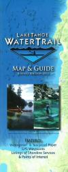 Lake Tahoe Water Trail Map and Guide by Adventure Maps