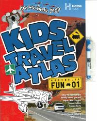 Kids Travel Atlas, Australia by Hema Maps