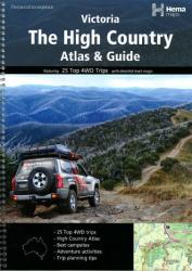 Victoria, The High Country, Atlas and Guide by Hema Maps