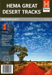 Australia, Western, Great Desert Tracks, 7th edition by Hema Maps